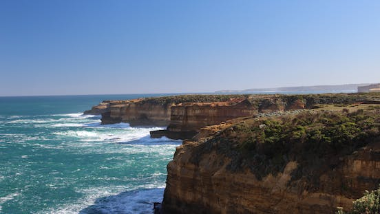 stunning westerly views from Loch Ard Gorge