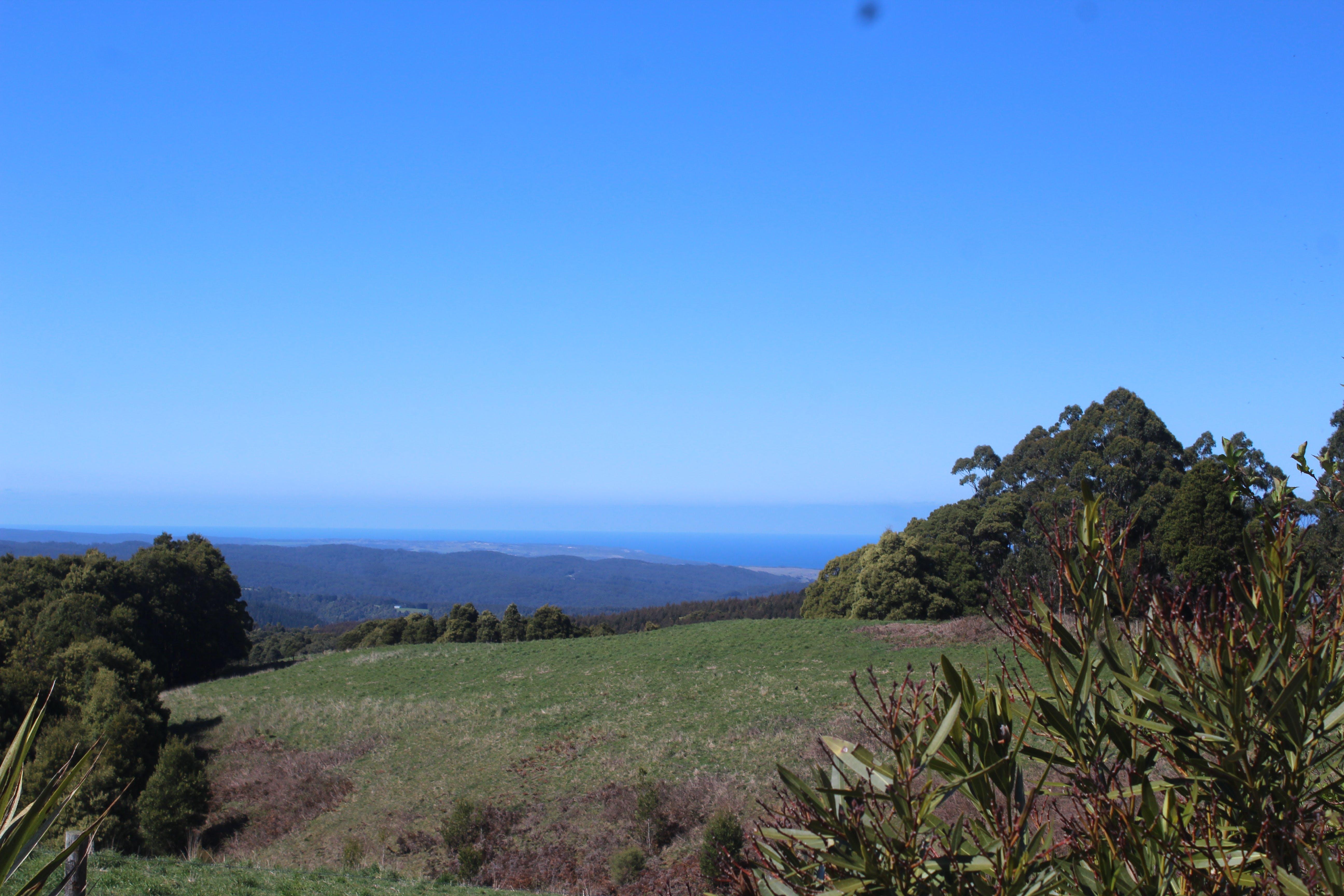 Great Ocean road Highest view of the ocean