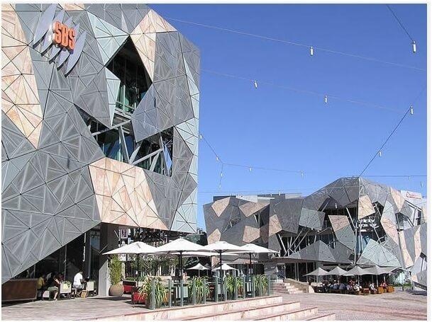 Federation Square Melbourne Victoria Australia