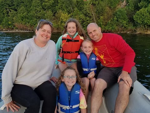Family Boat Tour to Eagle Bluff Light