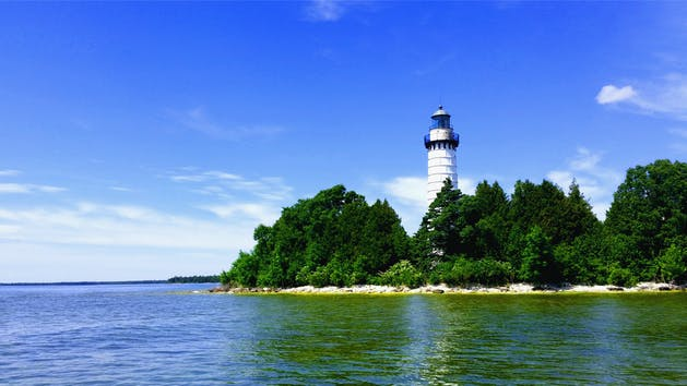 Door County Lighthouse Tours from Sister Bay, WI