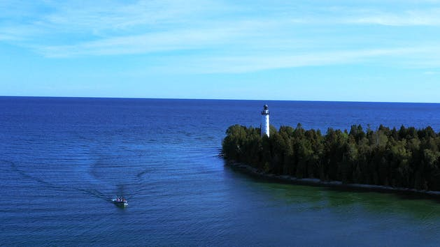 Boat Tours of Cana Island Lighthouse