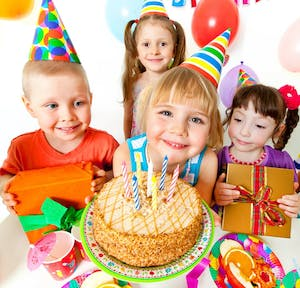 Birthday Party Packages Include
