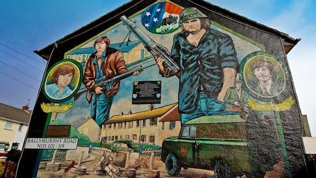 Famous Belfast Murals in Northern Ireland