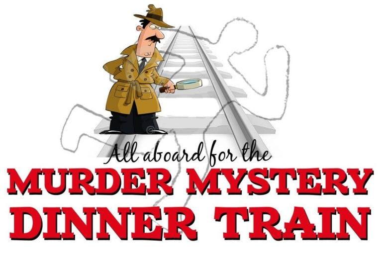 Murder Mystery Dinner Train Logo