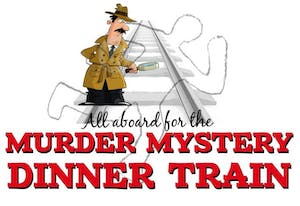Murder Mystery Dinner Train Logo