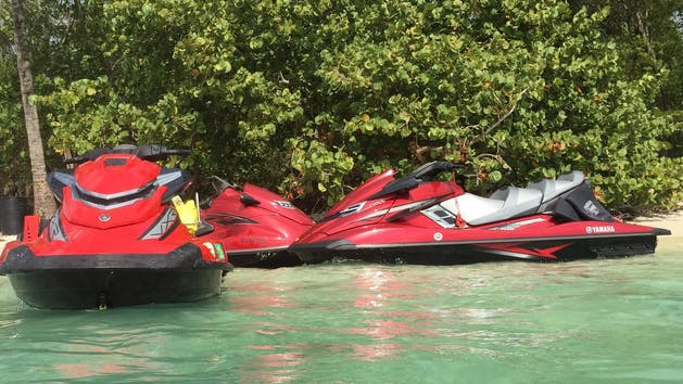 Jet Ski on water