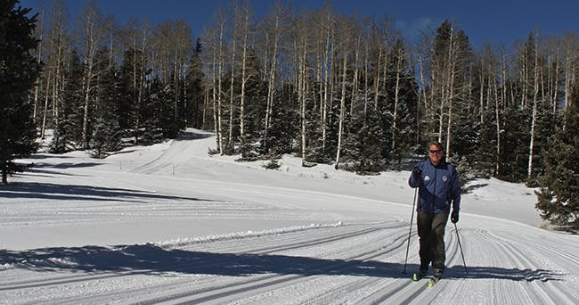 Enchanted Forest XC | New Mexico XC Skiing and Snow Shoeing