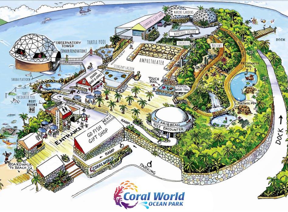 Park Info | Coral World Ocean Park