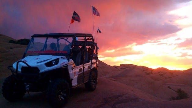 Moab Cowboy Hell's Revenge Sunset Tour