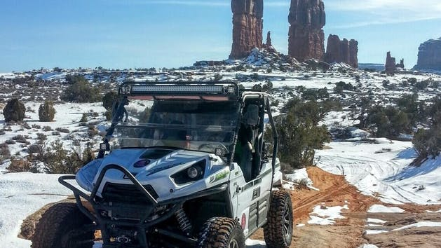Monitor and Merrimac 4x4 Tour